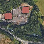 Am Betriebshof Obereschbach werden Bäume gefällt