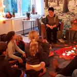 """Trauernde Kinder reisten in den """"Anderswald"""""""