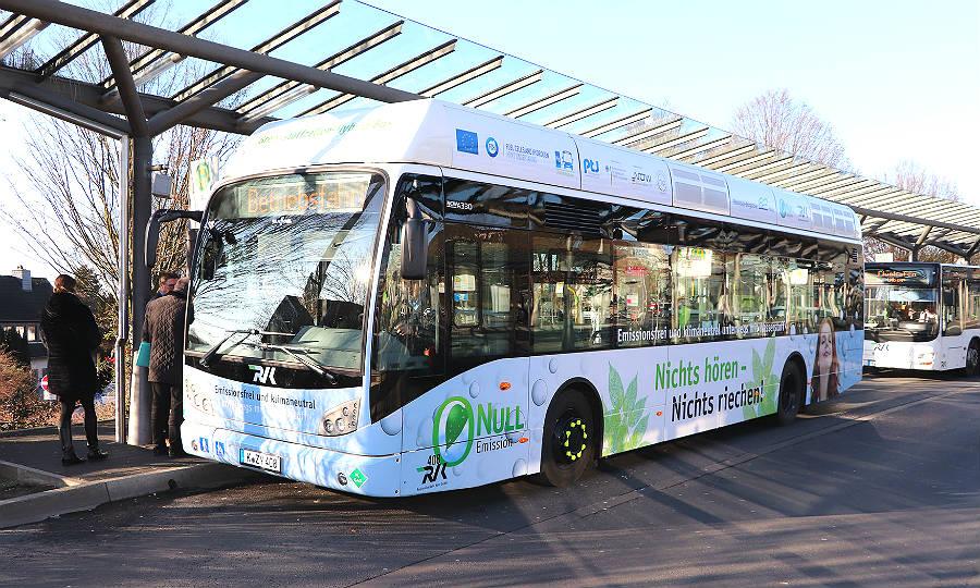 Köln/Bonn: Umstiegs- & emissionsfrei zum Flughafen mit Wasserstoff