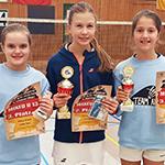 Gold, Silber und Bronze für Gloria Poluektov