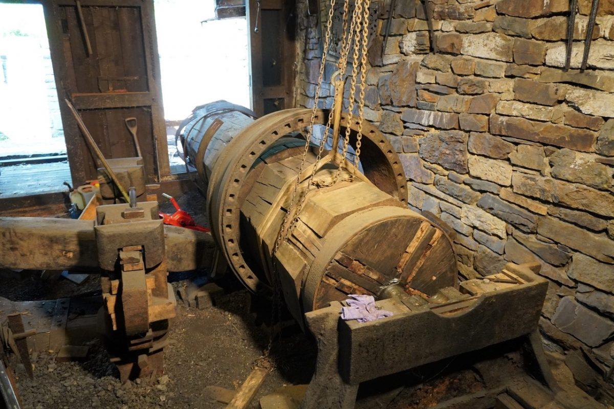 Hammerwerk im Bergischen Museum wird repariert ...