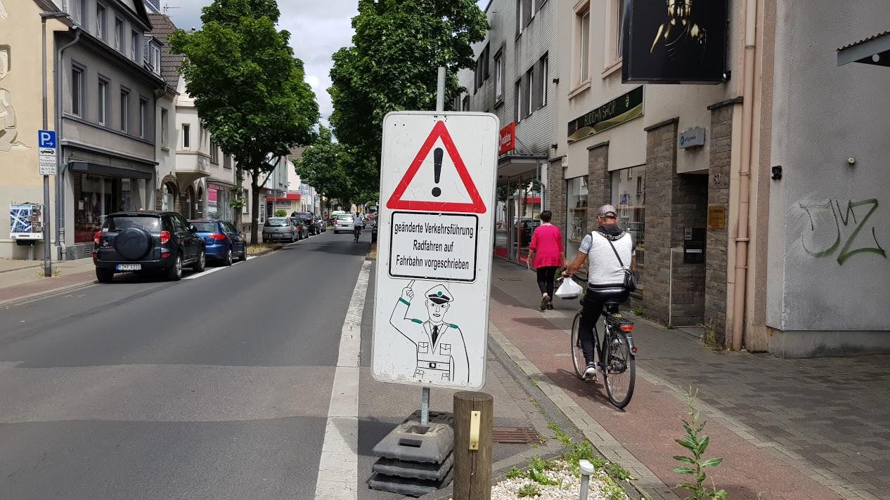 Radfahrer sich jetzt sie richtig wie verhalten Wie Verhalten