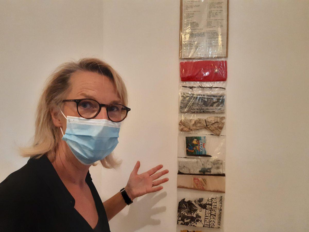 Petra Oelschlägel, Direktorin des Kunstmuseums Villa Zanders