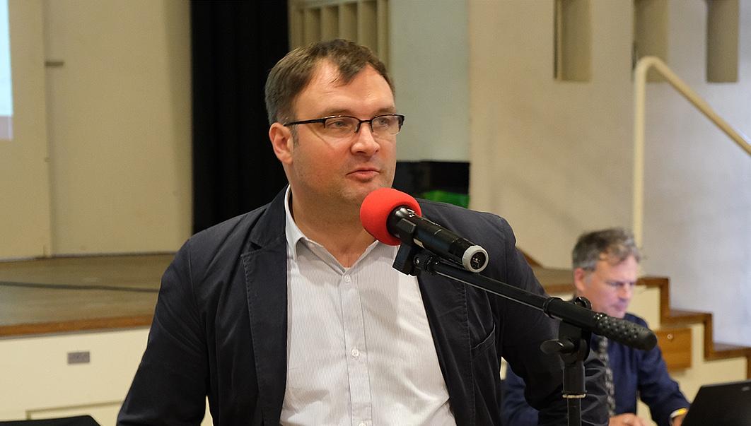Fabian Schütz, ganz bei der AfD angekommen