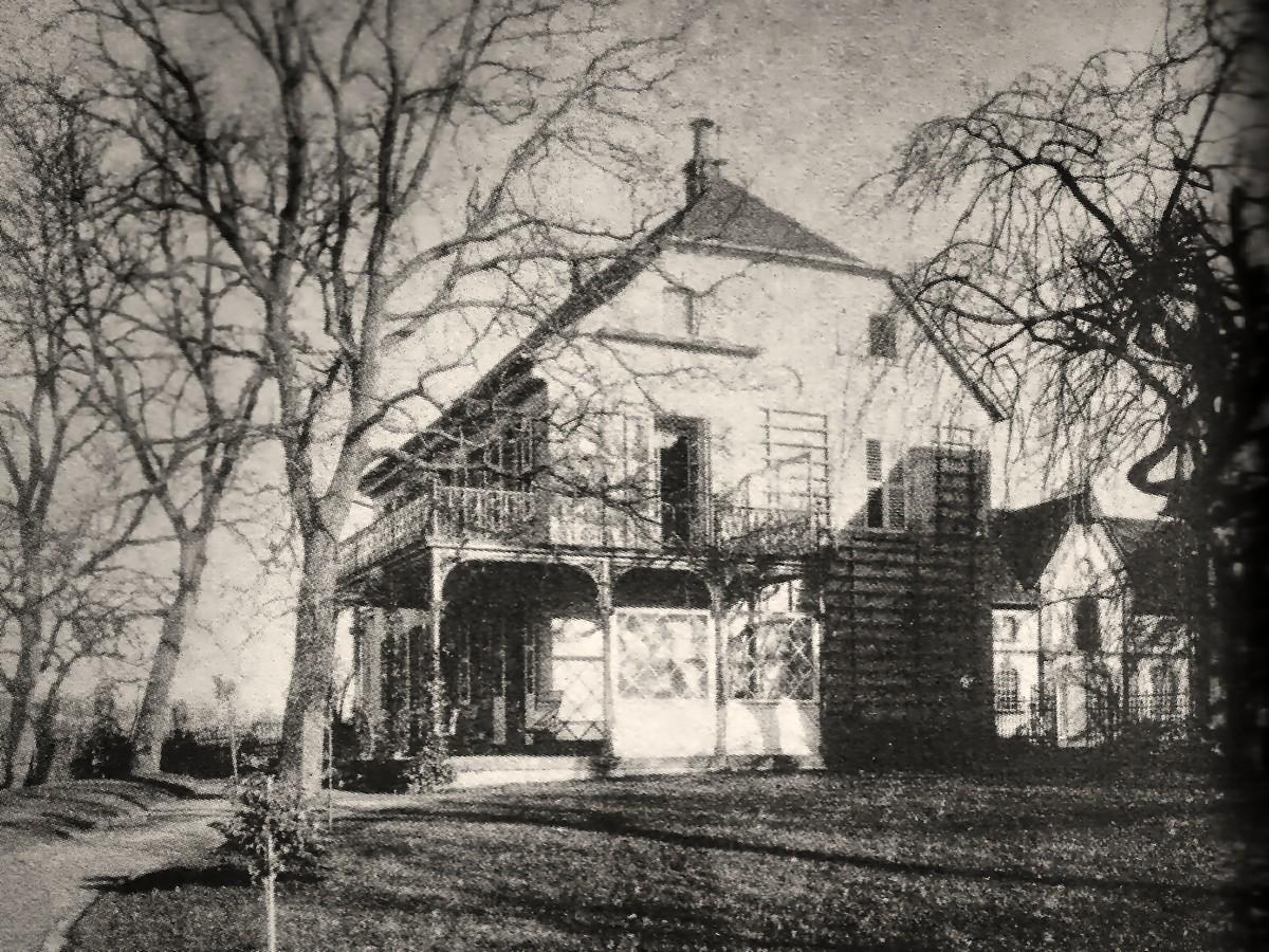 Igeler Hof um 1870. Foto: Stiftung Zanders