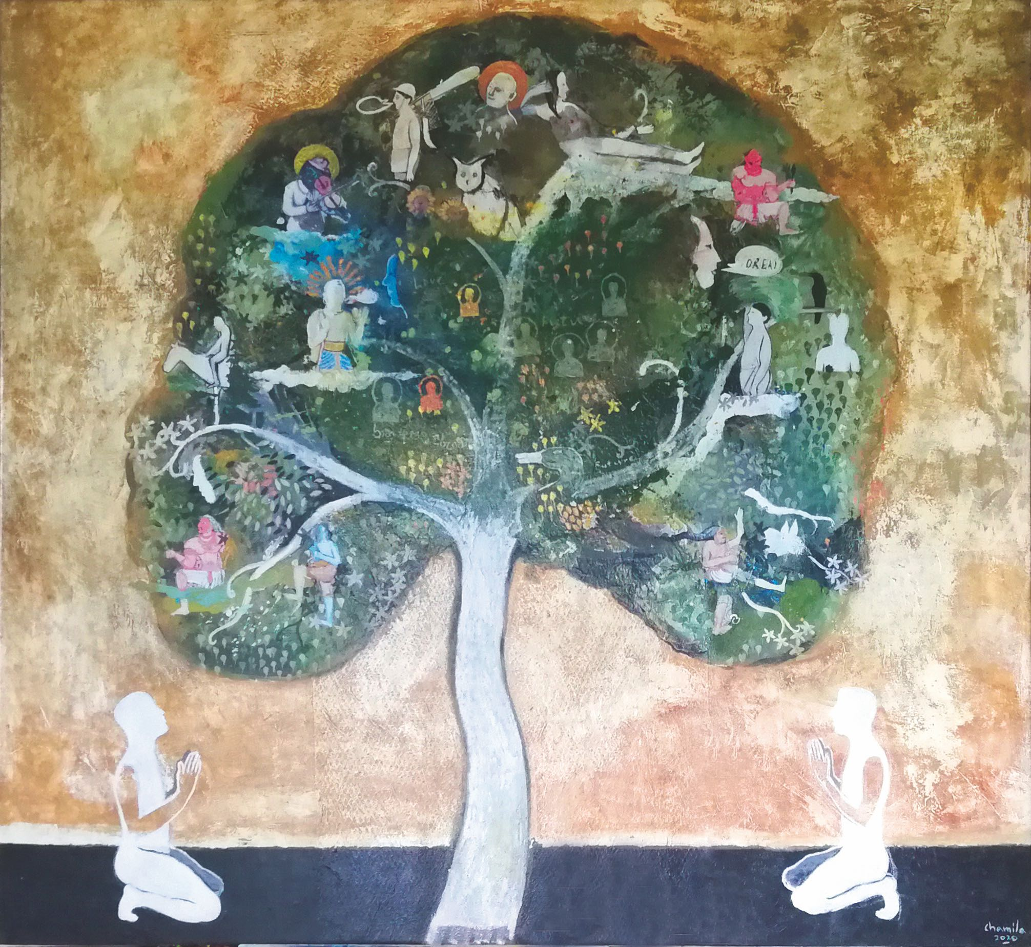 """""""Dialog with Nature"""" von Chamila Gamage"""