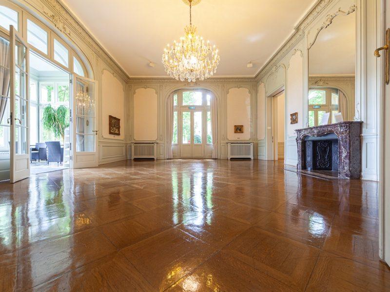Das Klavierzimmer von Max Bruch in der Villa Zanders. Foto: Thomas Merkenich