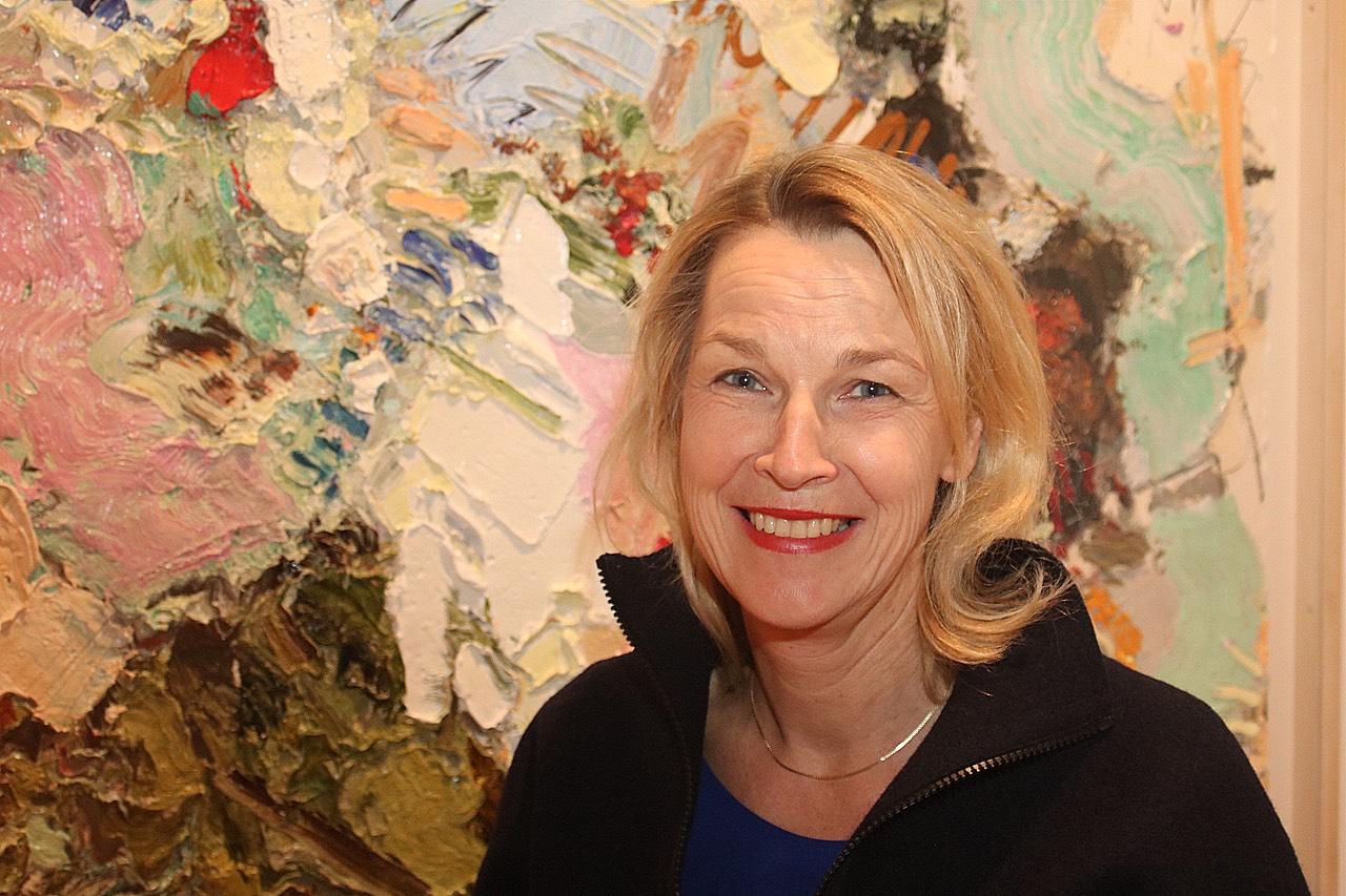 Petra Oelschlägel, Direktorin des Kunstmuseums Villa Zanders in Bergisch Gladbach. Foto: Susanne Schröder