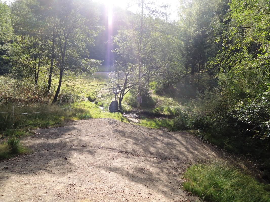 Wanderweg am Lerbach