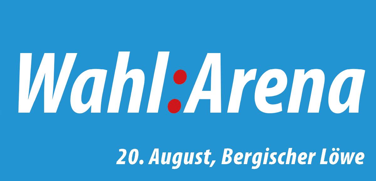 Plakt WahArena, 20. August, Bergischer Löwe